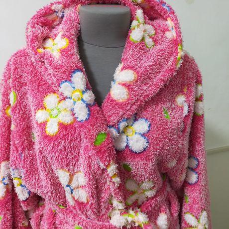 Женский теплый халат.
