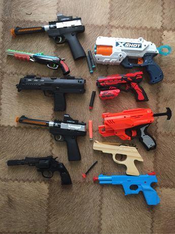 Пистолеты нёрф и другие