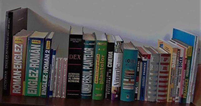 Dictionare lb romana, franceza, engleza/enciclopedii