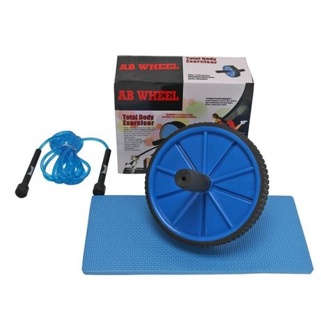 Фитнес Колело за Корем и Коремни Преси Ab Wheel 3 в 1