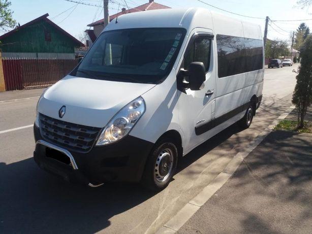 Renault Master Combi 2.3 dCi L2H2 cu 8+1 locuri schimb cu SUV plus dif