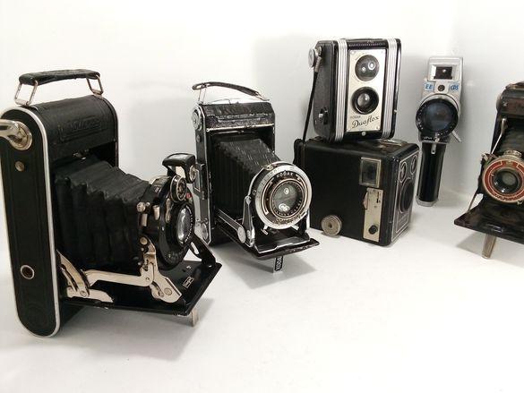 Лот от винтидж фотоапарати