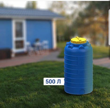 Цилиндрические вертикальные емкости, бочки, баки от 300 до 25 000 л