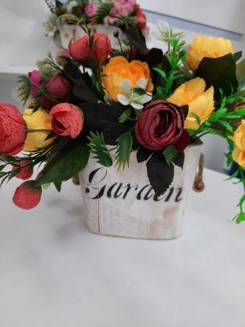 Искусственные цветы украшение для интерьера