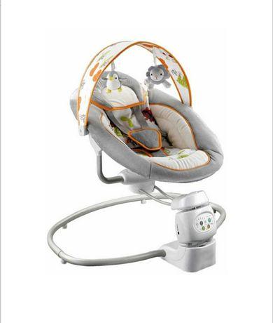 Leagan electric bebe cu muzica