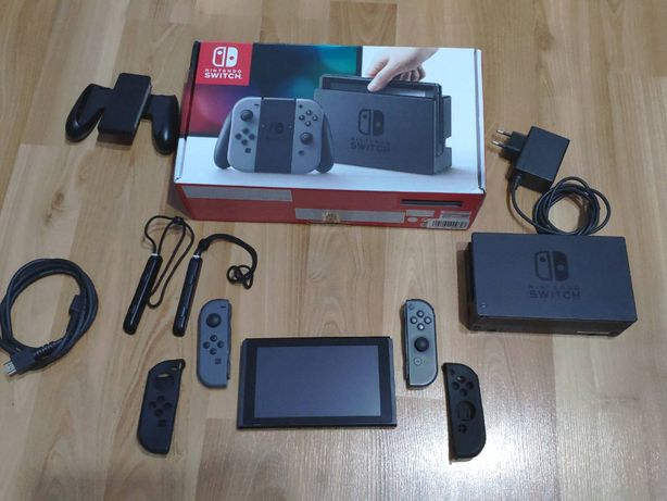 Nintendo Switch, card 256gb, Mario, Zelda, Polemon, Fifa21 - 32 jocuri