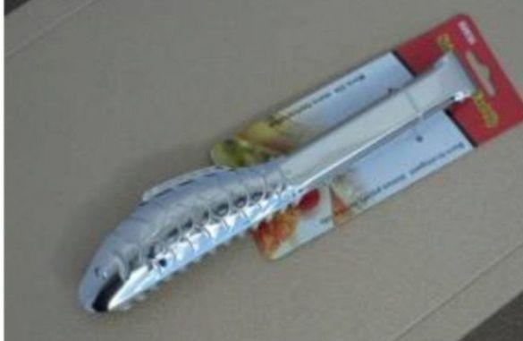Щипка за сервиране на риба и морски дарове