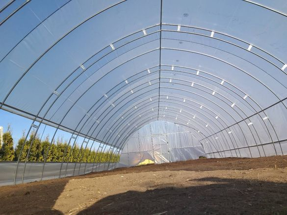 Полиетиленови оранжерии - българско производство