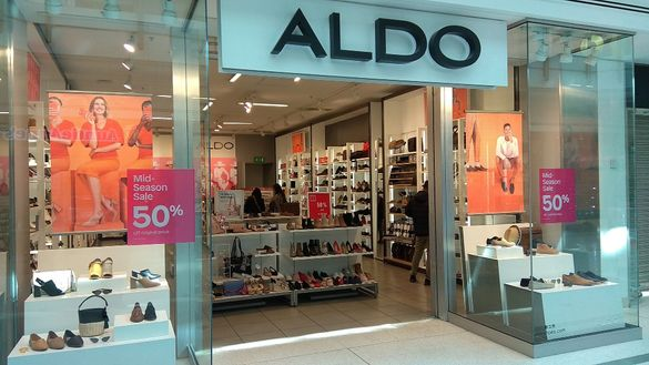 ALDO - английска дизайнерска кожена чанта