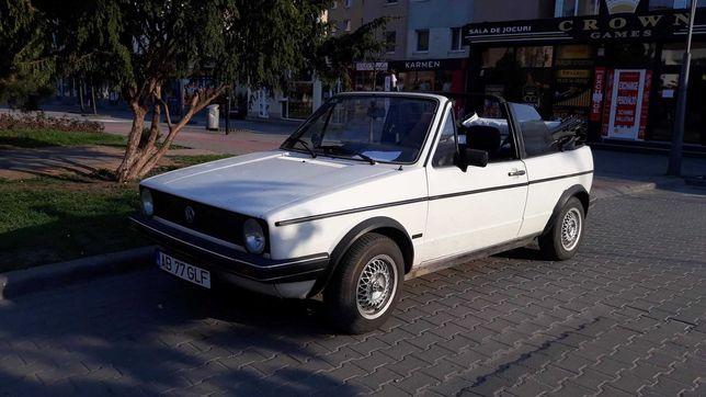 Golf 1 cabrio/an 1977 istoric