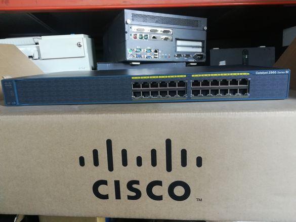 Cisco catalyst 2960 ws-c2960-24-s.Суичове