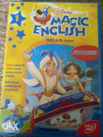 Dvd-uri interactive pentru invatarea limbii engleze copii