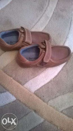 Pantofi maro, inchidere cu arici, NEXT, marime 27
