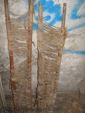 Старинни части от тъкачен стан