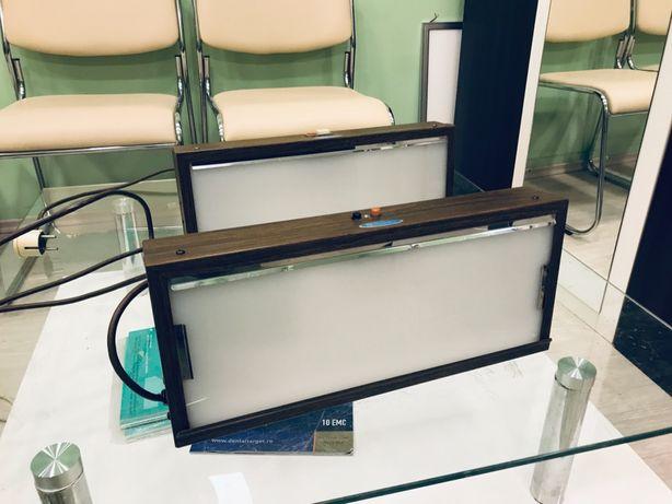 Panou luminos radiografie dentar dental veterinar clinica stomatologie