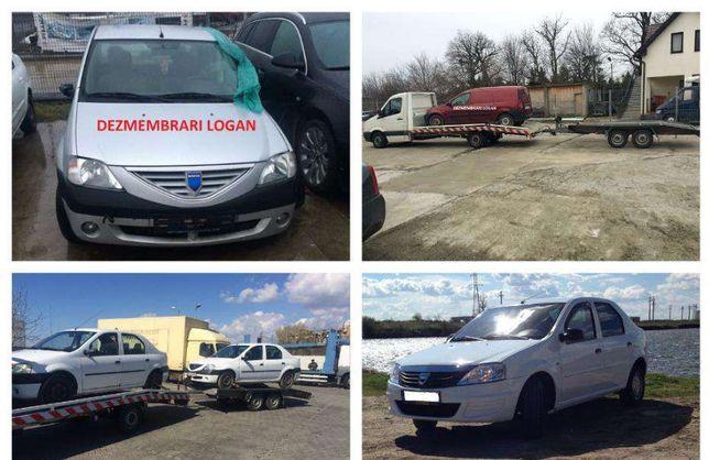 Dezmembrari Logan-Piese auto Dacia Logan 1.2 16v,1. 4, 1. 5 dci