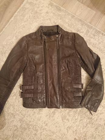 кожанная куртка детская
