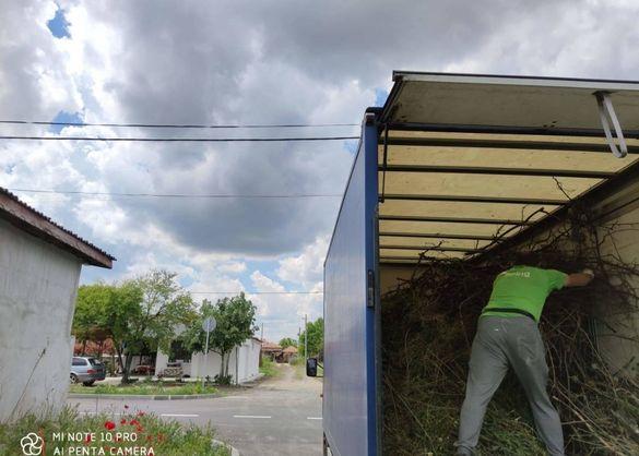 Косене на тревни площи, почистване на дворове, терени