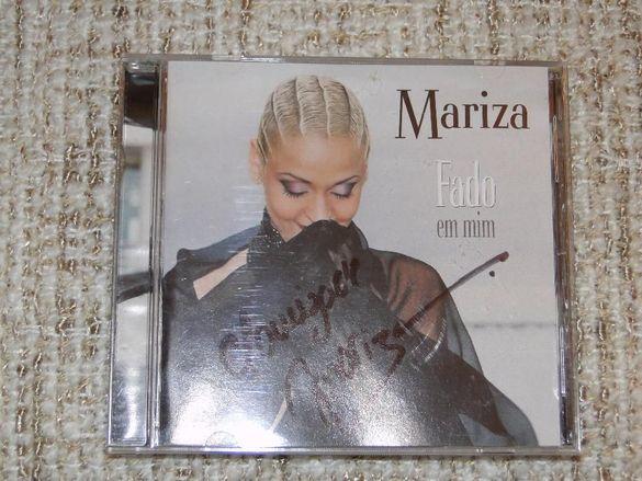 MARIZA - FADO EM MIM оригинален компакт диск с автограф