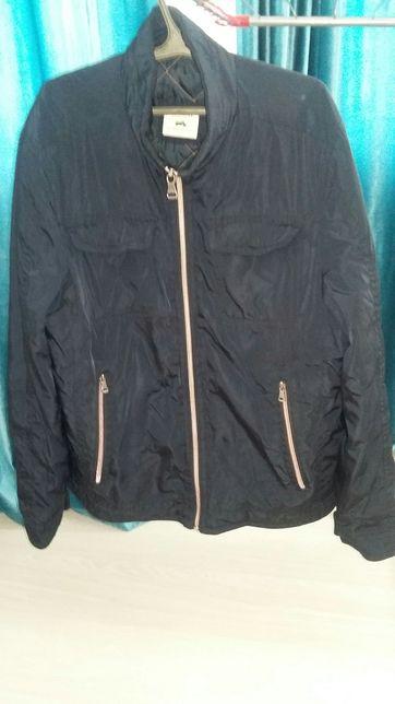 Куртка мужская, осенняя, короткая, б/у, размер 52