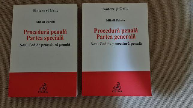 Procedura penală. Partea generala + Partea specială. M. Udroiu