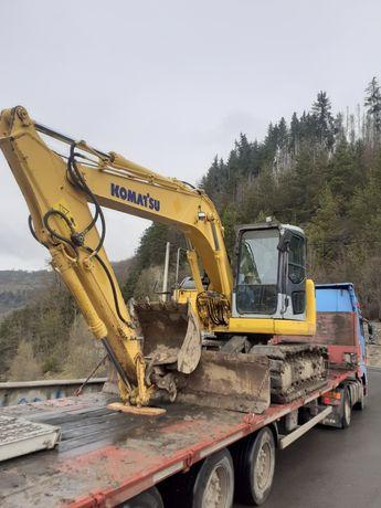 Închiriez Excavator 14,5tone(Drumuri forestiere,terasamente,excavatii)