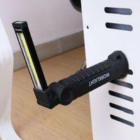 Магнитна лампа led акумулаторна - за работа, къмпинг и автосервиз