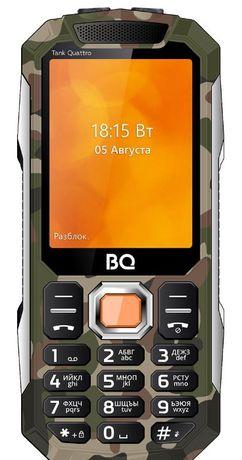 Новый в упак моб телефон с 4 сим картами,камера,цв дисплей,TANK