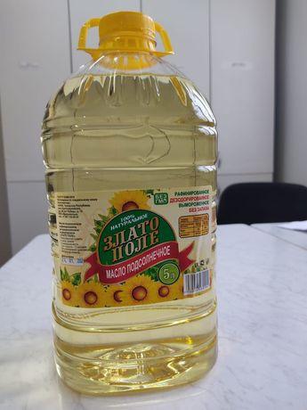 """Масло подсолнечное """"Злато поле"""""""