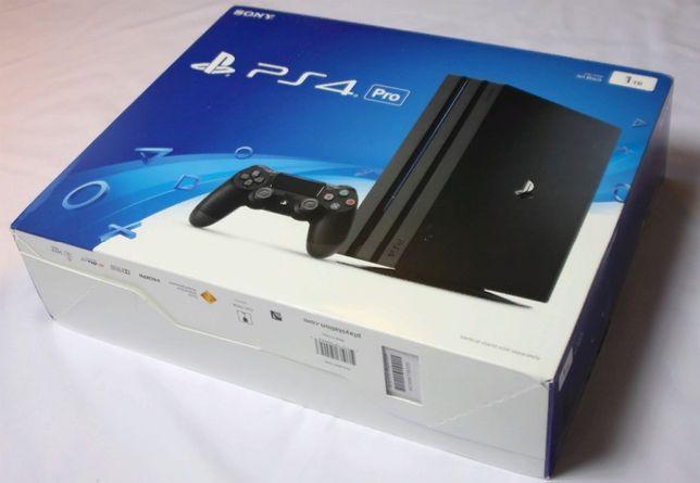 Игровая консоль SONY PlayStation 4 Pro Black 1TB \ магазин GAMEtop