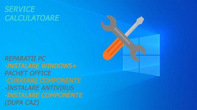 Instalare Windows 10/11 +Pachet Office,Antivirus,etc