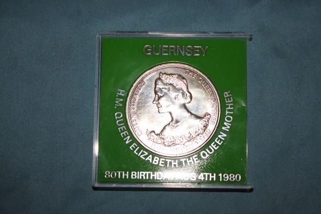 Monenda comemorativa, 25 Pence, 1980