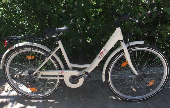 Нов,градски,дамски велосипед(ново колело)+подарък