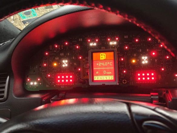 FULL FIS display VW AUDI A3 A4 A6 VDO LCD,дисплей за Ауди,