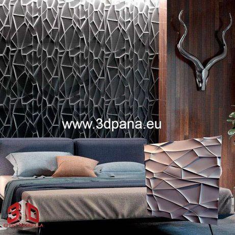 3D панели, Декоративни облицовки за стени и тавани, пана №0052