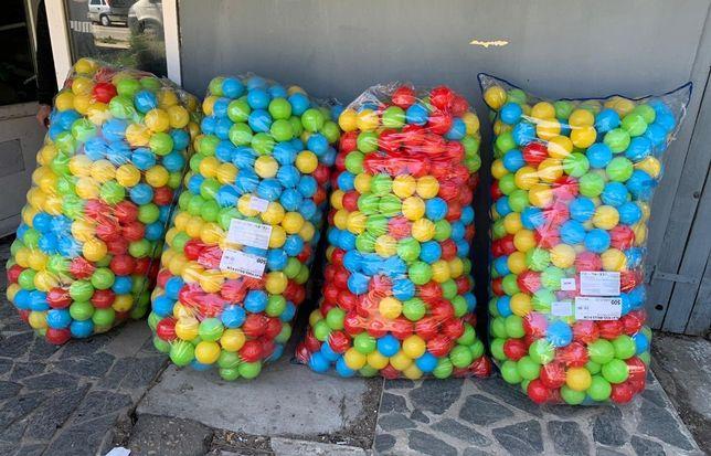 Set 500 bile plastic, mari, 9 cm, mingi plastic piscina copii