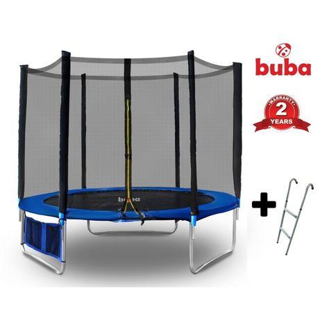 На склад! Buba детски батут 6FT (183 см) с мрежа и стълба