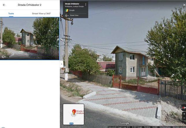 Vand casa demolabila cu teren de 1900 mp in sat Gradistea, GR
