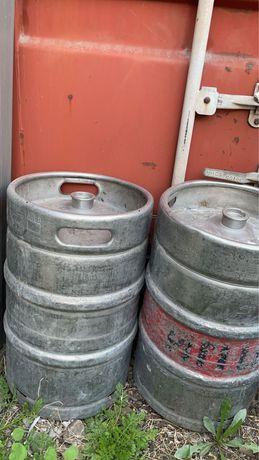 Бочки для пиво 4 по 50 литров штук  2 шт по 30 литров