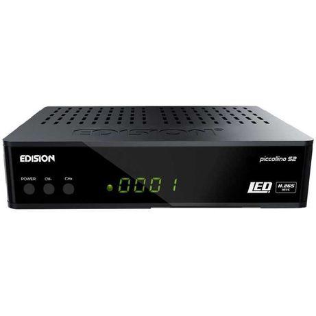receiver satelit HD Edision Piccollino S2 H265 DVB-S2 sigilat full HD