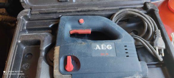 *AEG*-Германия.220V,520W,70mm,3000  уборота.Електрически трион.
