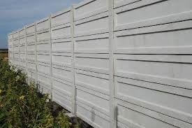 Placa gard beton