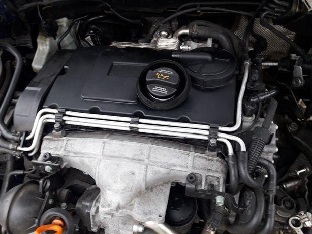Motor cu injectoare  vw passat b6 2.0tdi BKP 140cp an 2007 euro 4