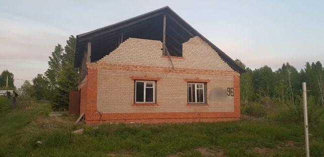 """Продам дом пос""""Солнечный""""(готовность 50%).район """"Березовой рощи."""