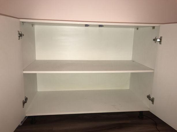 Шкаф белый 2 полки