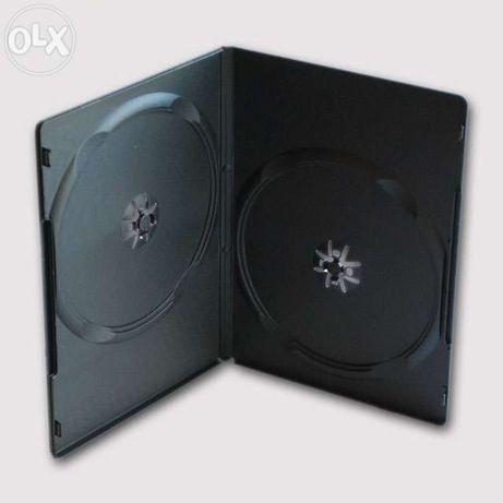 Боксы DVD на 2 диска, 14 мм