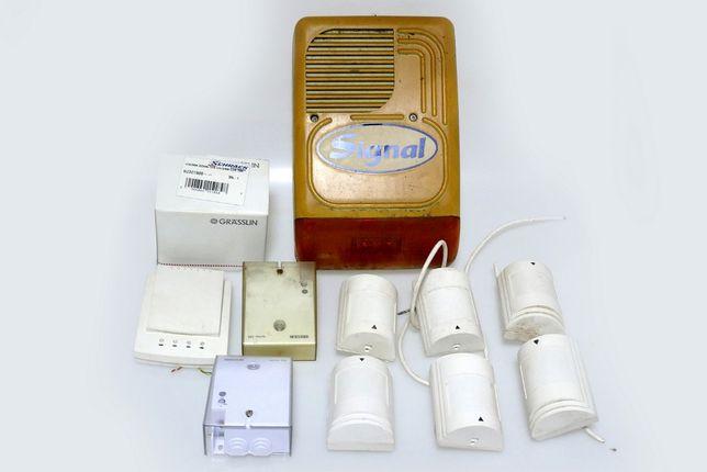 Vand sistem de alarma, antiefractie PARADOX cu accesorii
