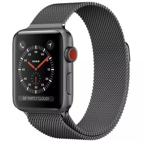 Curea / Bratara Milanesse Loop Ceas Apple Watch Seria 1.2.3.4.5.6.SE