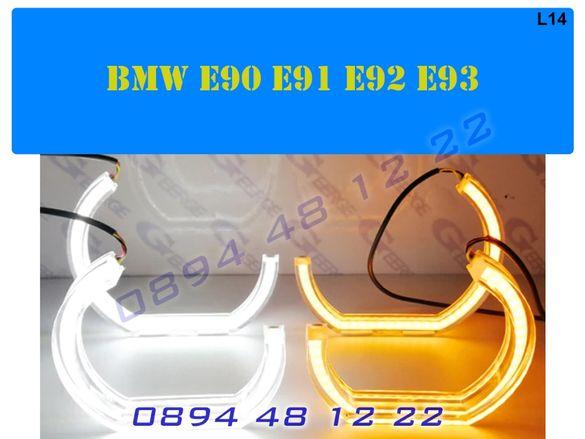 Crystal Angel Eyes Кристални Ангелски Очи BMW БМВ Рингове E90 E91 E92