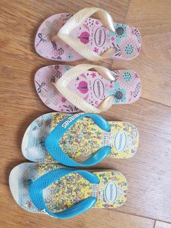Детски джапанки havainas и сандали lupilu 27